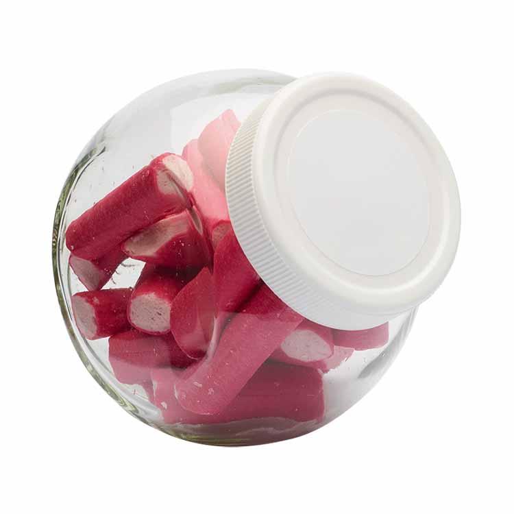 Snoep glazen potten