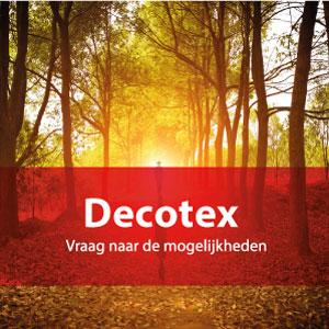 Foto op decotex